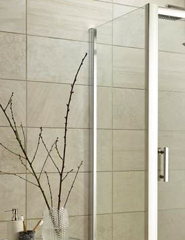 Nuie Premier Pacific 700mm x 1850mm Side Panel For Shower Enclosure - Image