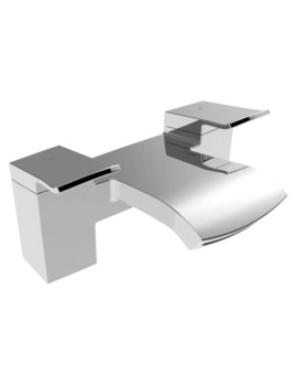 Descent Deck Mounted Bath Filler Tap