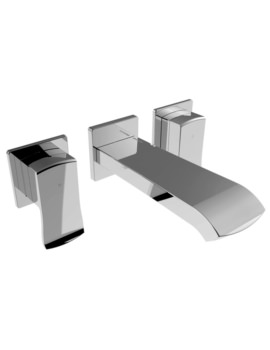 Descent Wall Mounted Basin Mixer Tap
