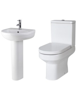 Harmony Basin And Toilet Set