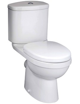Capital Close Coupled WC Pan With Cistern And Seat 630mm