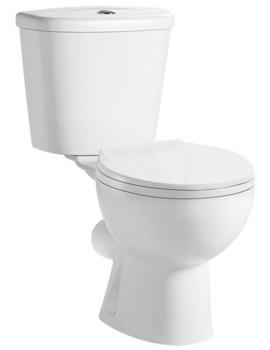 Gateway Close Coupled WC With Cistern And Soft Close Seat