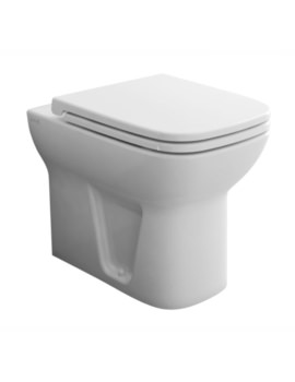 S20 Back-To-Wall WC Pan With Soft Close Toilet Seat