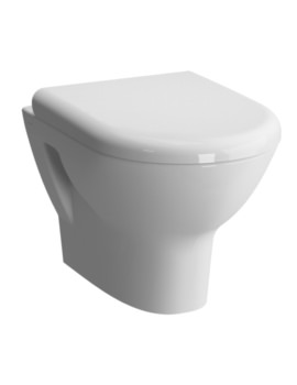 Zentrum Wall Hung WC Pan With Soft Close Toilet Seat