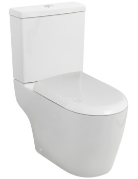 Elation Close Coupled WC With Cistern And Soft Close Seat