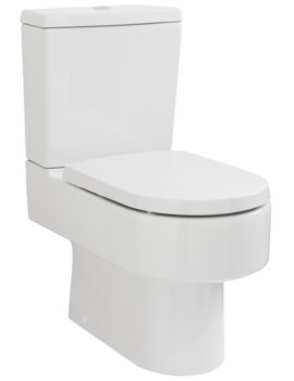 Lauren Provost Semi Flush To Wall Pan 660mm And Cistern - NCH500, NCH401