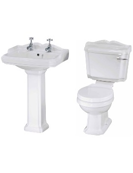 Legend Basin And Toilet Set