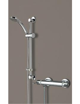 Bristan Design Utility Bar Shower Mixer With Adjustable Riser Kit