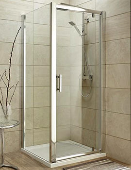 Pacific 700 x 1850mm Pivot Shower Door