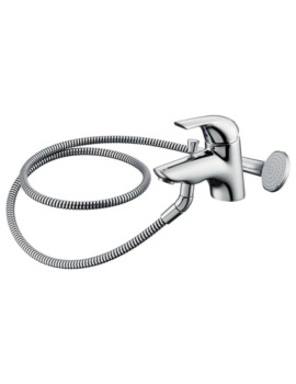 Ceraplan Single Lever Bath Shower Mixer Tap With Kit