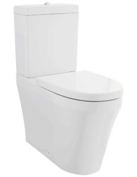 Beo Mellow Comfort Height WC Pan With Cistern And Seat 700mm