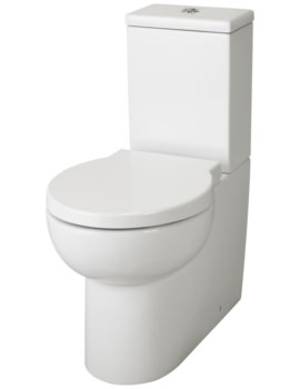 Lauren Holstein Closed Coupled Flush To Wall WC Set 640mm