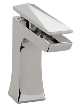 Ebony Deck Mounted Basin Mixer Tap