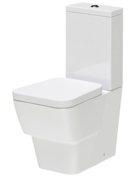 Lauren Cambria Flush To Wall WC Set 630mm - NCR300, NCR301