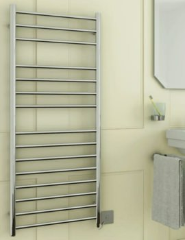 DQ Heating Siena Electric Towel Rail 600 x 1190mm