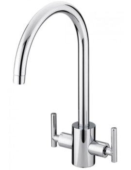 Artisan EasyFit Kitchen Sink Mixer Tap Brushed Nickel
