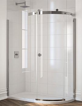 10 Series 1 Door Offset Quadrant Enclosure 1400 x 800mm
