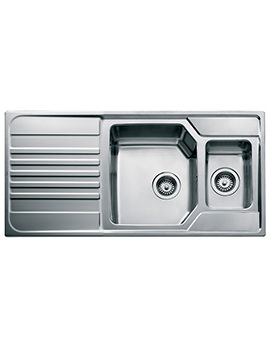 Premium 1.5B 1D Stainless Steel Inset Sink
