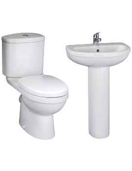Ivo Basin And Toilet Set