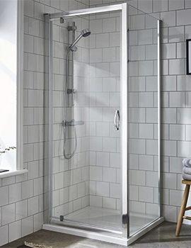 Ella 700 x 1850mm Pivot Shower Door