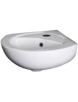 Brisbane 318 x 318mm Corner Wall Hung Basin