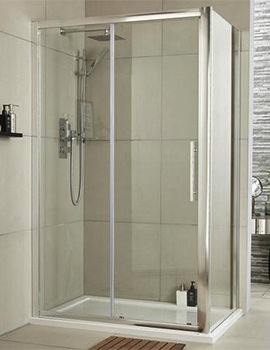 Lauren Apex 1400 x 1900mm Sliding Shower Door
