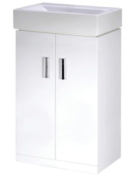 Checkers 460mm Floor Standing Cabinet And Basin