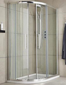 Lauren Apex 900 x 800mm Offset Quadrant Shower Enclosure