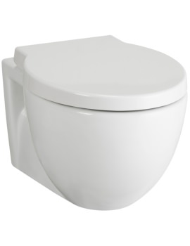 Holstein Wall Hung WC Pan 525mm And Seat