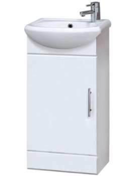 Sienna 420mm Floor Standing Cabinet And Basin