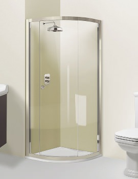 Simpsons Arcade Single Door Quadrant Shower Enclosure 900 x 1950mm