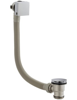Square Slimline Freeflow Bath Filler