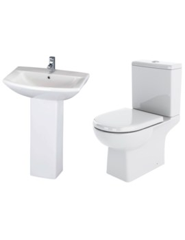 Asselby Basin And Toilet Set