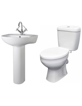 Melbourne Basin And Toilet Set