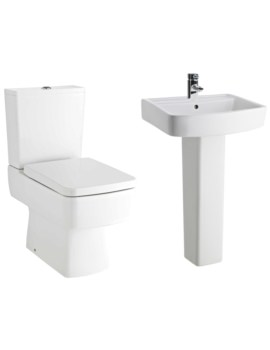 Bliss Basin And Toilet Set