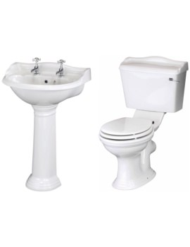 Ryther Basin And Toilet Set