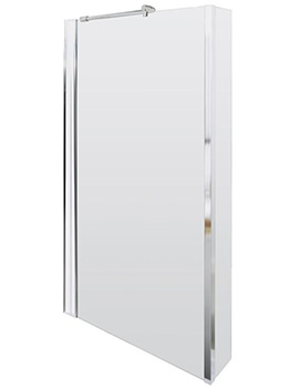 Quattro 805 x 1400mm Screen For Square Shower Bath