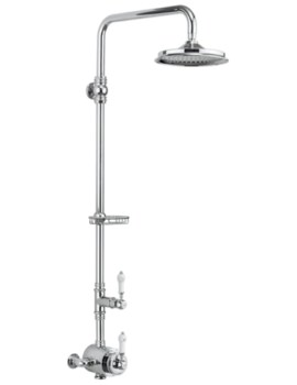Stour Thermostatic 1 Outlet Exposed Shower Set