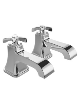 Bristan Glorious Pair Of Bath Taps