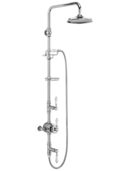 Stour Two Outlet Exposed Thermostatic Shower Set