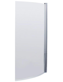 850-870 x 1435mm Curved Screen For B-Bath