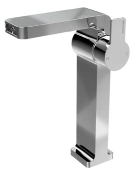 Exodus Single Hole Tall Basin Mixer Tap