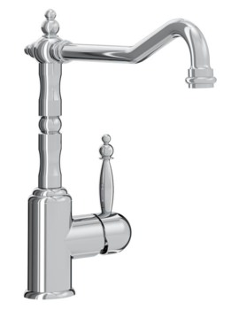 Colonial Single Lever Easyfit Kitchen Sink Mixer Tap