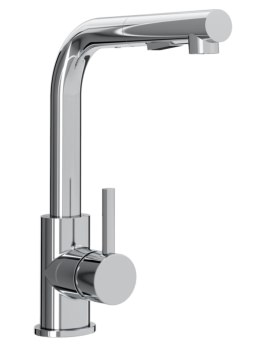 Macadamia Kitchen Sink Mixer Tap With Pull Out Handset