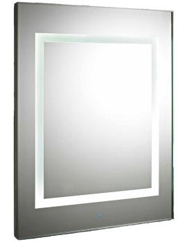 Level Touch Sensor 600 x 800mm LED Mirror With De-Mister Pad