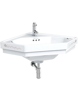 English Garden Classic Corner Basin