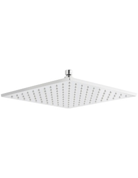 200 x 200mm Square Fixed Shower Head With LED