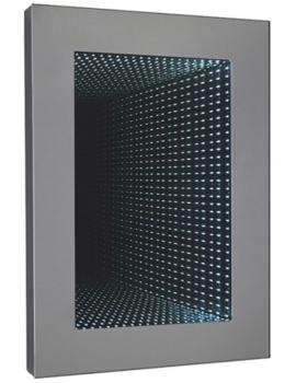 Infinity 700 x 500mm Rectangular LED Mirror