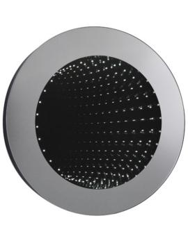 Infinity 600mm Round LED Mirror