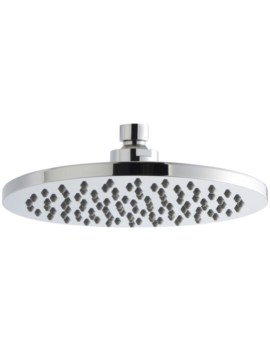 Lauren 200mm Round Chrome  ABS Plastic Fixed Shower Head